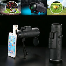 35X Zoom Optical Telephoto Camera Clip On Telescope Lens For Mobile Smart Phone