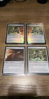 Lightning Greaves x4 Playset (2 FOIL) Double Masters/Myster Booster NM/M MTG