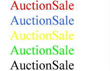 AuctionSale.com Premium Domain Name for Sale Created Date 1996