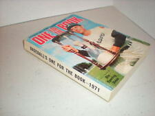 1971 Baseball's One For The Book, Record Guide, Atlanta Braves Cover, Card