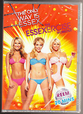 THE ONLY WAY IS ESSEX - THE ESSEXERCISE WORKOUT - NEW & SEALED R2/4 PAL DVD
