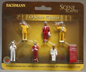 BACHMANN O GAUGE MECHANIC DUDES figures people tool track scenery train BAC33163