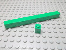 Lego 10 Basic Steine 1x1 hoch grün 3005 Set 6863 7939 7992 5868
