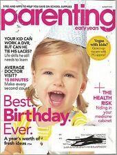Parenting August 2011 Life Skills Still Needed/Best Birthday Ever/Medicine Cabin