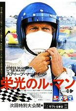 Le Mans POSTER Steve McQueen **LARGE** Ferrari 512 Porsche 917 911 Racing movie