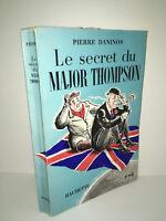 Pierre Daninos LE SECRET DU MAJOR THOMPSON Hachette 1956 dessins de GOETZ CA69B