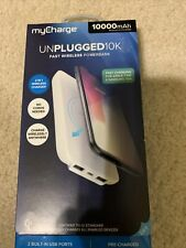 New myCharge Unplugged 10K Fast Wireless Charging