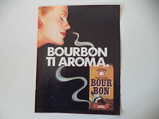 advertising Pubblicità 1985 CAFFE' BOUR BON BOURBON