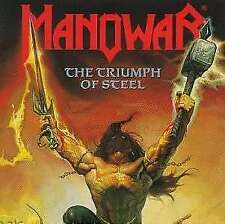 The Triumph Of Steel - Manowar CD ATLANTIC