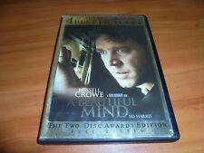 A Beautiful Mind (DVD, 2002, 2-Disc Full Frame)