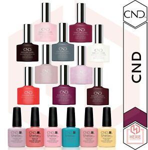 CND Shellac Luxe - Color Coat 7.3ml | Gel Nail Polish 12.5ml - *Various Shades*