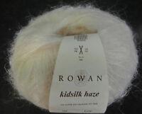 (55,80 €/100 g): 25 g Rowan KIDSILK HAZE, Farbe Sh 634 wollweiß Lot 3401  #3686