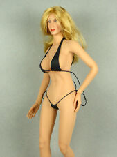 1/6 Scale Phicen, Hot Toys, Kumik, Play Toy  Sexy Female Black String Bikini Set