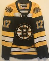 Mens BOSTON BRUINS Milan LUCIC #17 NHL Hockey Jersey Size XL