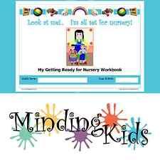 READY FOR NURSERY WORKBOOK - Help children prepare - starting nursery/preschool