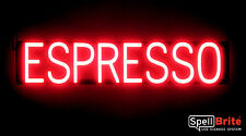 SpellBrite Ultra-Bright ESPRESSO Sign Neon look LED performance