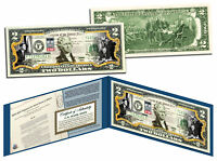 CIVIL RIGHTS ACT OF 1964 *50th Anniversary* Legal Tender U.S. Colorized $2 Bill