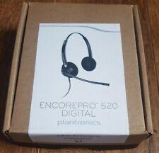 Plantronics EncorePro HW520 Binaural Noise-Canceling Phone QD Headset