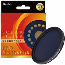 Kenko ND filter 77mm PRO ND100000 eclipse shooting 177495