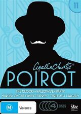 Agatha Christie's Poirot: Volume 11 (The Clocks/Hallowe'en Party/Murder on the O