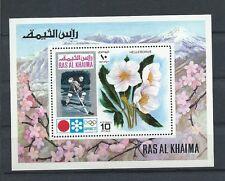 RAS AL KHAIMA , 1972 OLYMPICS ,  SOUVENIR SHEET ., PERF , MNH
