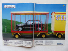 Opel Corsa SR - Werbeanzeige Reklame Advertisement 1984 __ (448