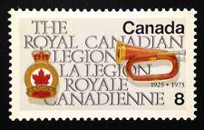 Canada #680i LF MNH, Royal Canadian Legion Stamp 1975