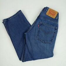 """Levi's 550 Boy's Size 8 Slim Relaxed Fit Jeans 22""""W/22""""L Blue NWOT"""