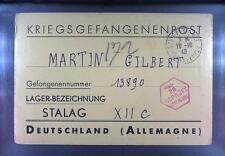 Camp Stalag XIIC Wiebelsheim 1940 POW Prisoner of War Kriegsgefangenenpost K28c