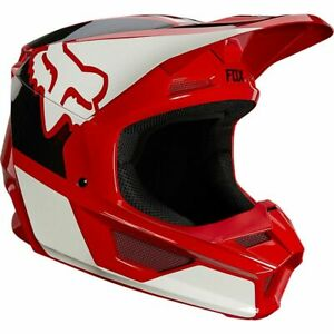 FOX RACING YOUTH V1 REVN FLAME RED - YOUTH SMALL - 25875-122-YS - FREE SHIPPIN