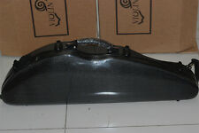 New violin 4/4 full size 100% carbon fiber case with bow holders & straps
