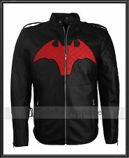 Bruce Wayne Batman Beyond Hollywood TV Series Cosplay Leather Jacket Costume