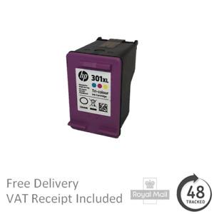 Original HP 301XL High Capacity Tri-Colour Ink Cartridge CH564E