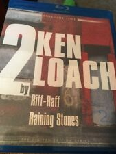 2 BY KEN LOACH - RIFF-RAFF + RAINING STONES (Blu-Ray) Twilight Time NEW