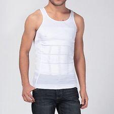 Men Shaper Vest Shirt Body Slimming Tummy Belly Waist Girdle Shapewear Underwear
