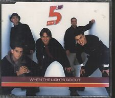 Five - When the lights go out CD (single)