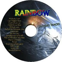 RAINBOW GUITAR BACKING TRACKS CD BEST OF GREATEST HITS MUSIC PLAY ALONG MP3