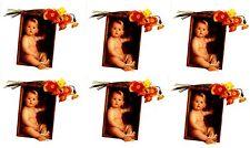 Anne Geddes Baby Scrapbook Stickers Flowers Poppies 6 Sheets