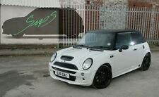 Mini Cooper S JCW, BELTLINE Tape r50/52/53 FR-Chrome Mat Black 2001-2006