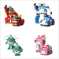 Robocar Transformer Robot POLI Robot TV Animation Figures Car Toy Christmas Gift