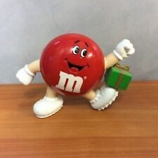 M&M's Red Dispenser With Present - Very Good Condition