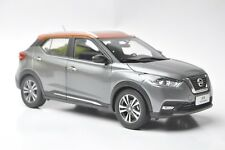 Nissan Kicks car model in scale 1:18 Gray/orange