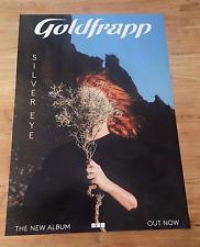 "GOLDFRAPP - SILVER EYE - PROMO POSTER (for new lp / cd / vinyl 12"" 7"" tour box)"