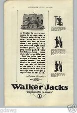 1926 PAPER AD Walker Car Auto Automobile Jack Jacks Store Window Sign Display