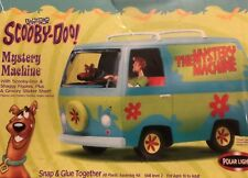 W13- Polar Lights Scooby-doo Mystery Machine W/Figures Snap Together Model 6808