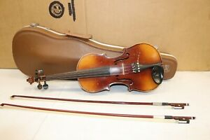 Vintage Violin labeled COPY Antonius Stradivarius 1721   Czechoslovkia