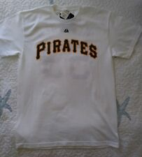 Majestic Mens Pittsburgh Pirates James McDonald Name/Number T-Shirt Size Medium
