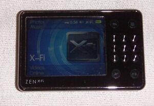 Creative ZEN X-Fi (16GB) Digital Media MP3 Player Black. Works great