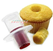 Cupcake Muffin Pastry Cake Corer Plunger Cutter Decorating Divider Model Quality