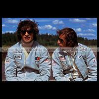 #pha.000725 Photo FRANCOIS CEVERT & JACKIE STEWART PILOTE F1 FORMULE 1 Auto Car